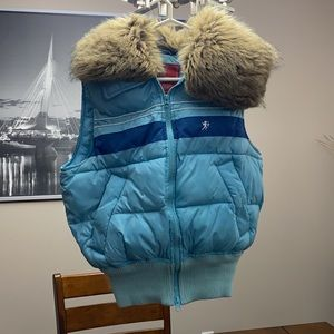 EDC by Esprit puffer vest size small